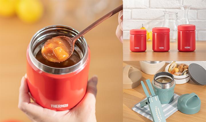 保温できるお弁当箱やスープジャーを活用