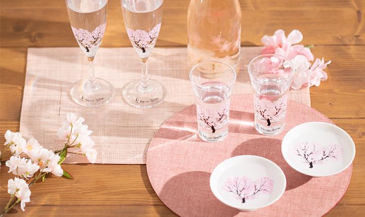テーブルの上で感じる、小さな春
