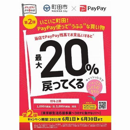 """【第2弾】いこいこ町田!PayPay使って""""うふふ""""な買い物"""
