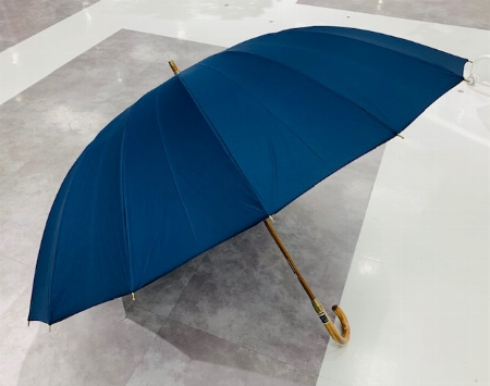 70cm 16本骨長傘