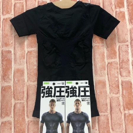 メンズ加圧シャツ