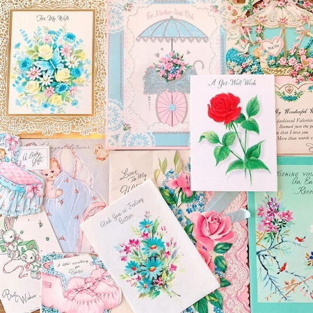 Lovely&Romantic♡ Antique Cards Collection