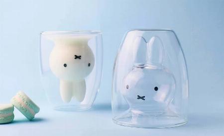 「miffy」ダブルウォールグラス