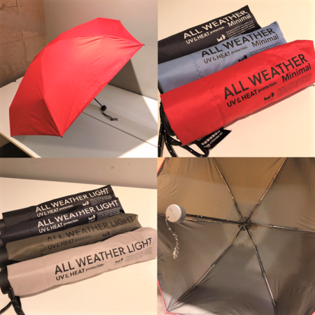 オールシーズン活躍の晴雨兼用傘