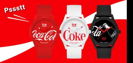 Coca-Cola & ice watch