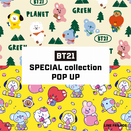 BT21 SPECIAL collection POP UP