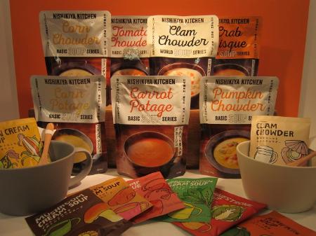 『レトルト・インスタントスープ』