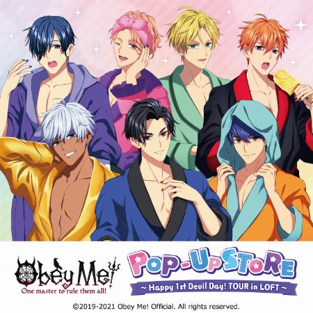 【予告】Obey Me! Happy 1st Devil Day! TOUR in 渋谷ロフト