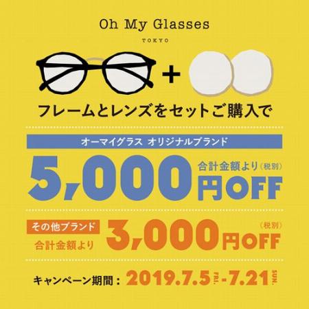 フレーム&レンズのセット購入がお買い得!
