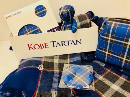 神戸タータン ハッピーバッグ