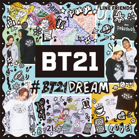 「#BT21DREAM」POP UP STOREアイテム登場