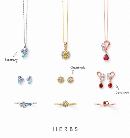 HERBS –Color stone-