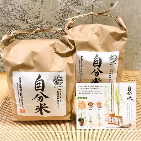 お米の栽培セット「自分米」