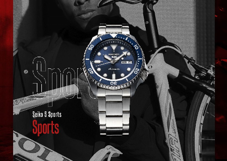 SEIKO 5 SPORTS POP UP STORE