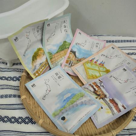 日本の温泉入浴剤