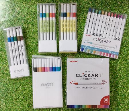 発色◎色数◎なカラーペン