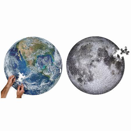 秋の夜長に!地球と月のパズル