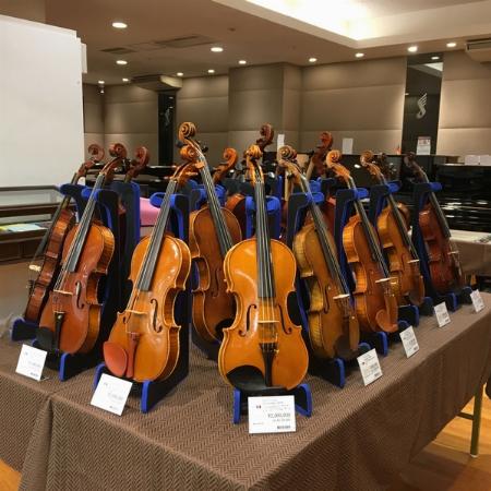 ヴァイオリン展示会&J-POP/JAZZ ヴァイオリンライブコンサートのお知らせ