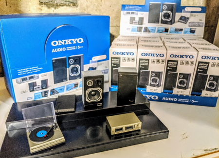 ONKYO AUDIO miniature collection