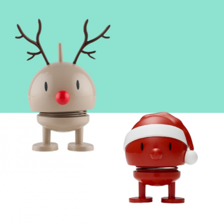 クリスマスモチーフの楽しいフィギュア