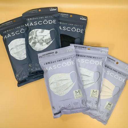 多機能・衛生マスク「マスコード」