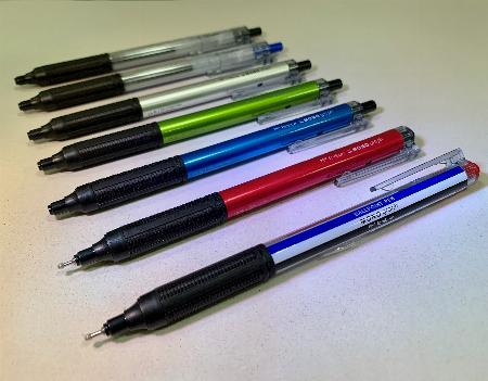 油性ボールペン モノグラフライト新発売