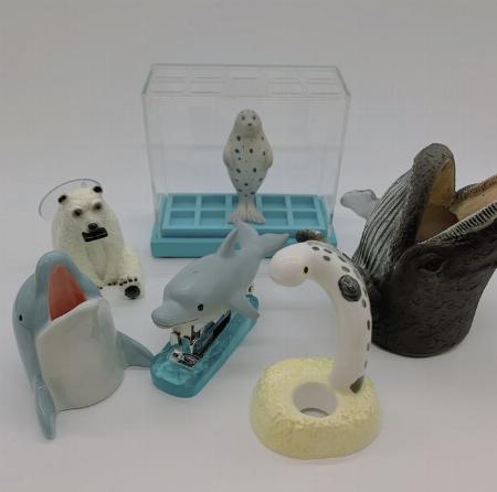 机の上の水族館