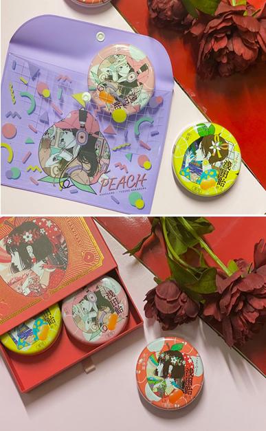 「浅田飴」フラットポーチ・貼り箱