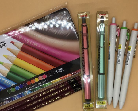 三菱鉛筆フェア