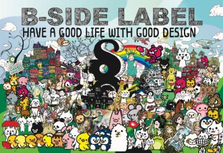 B-SIDE LABEL ステッカー特別販売会