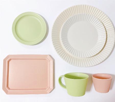 「SAKUZAN」の食器で彩る食卓